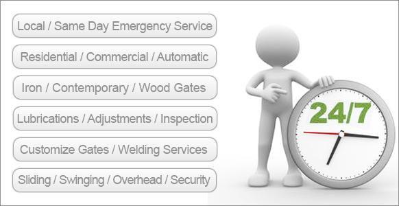 Types of gates we work on